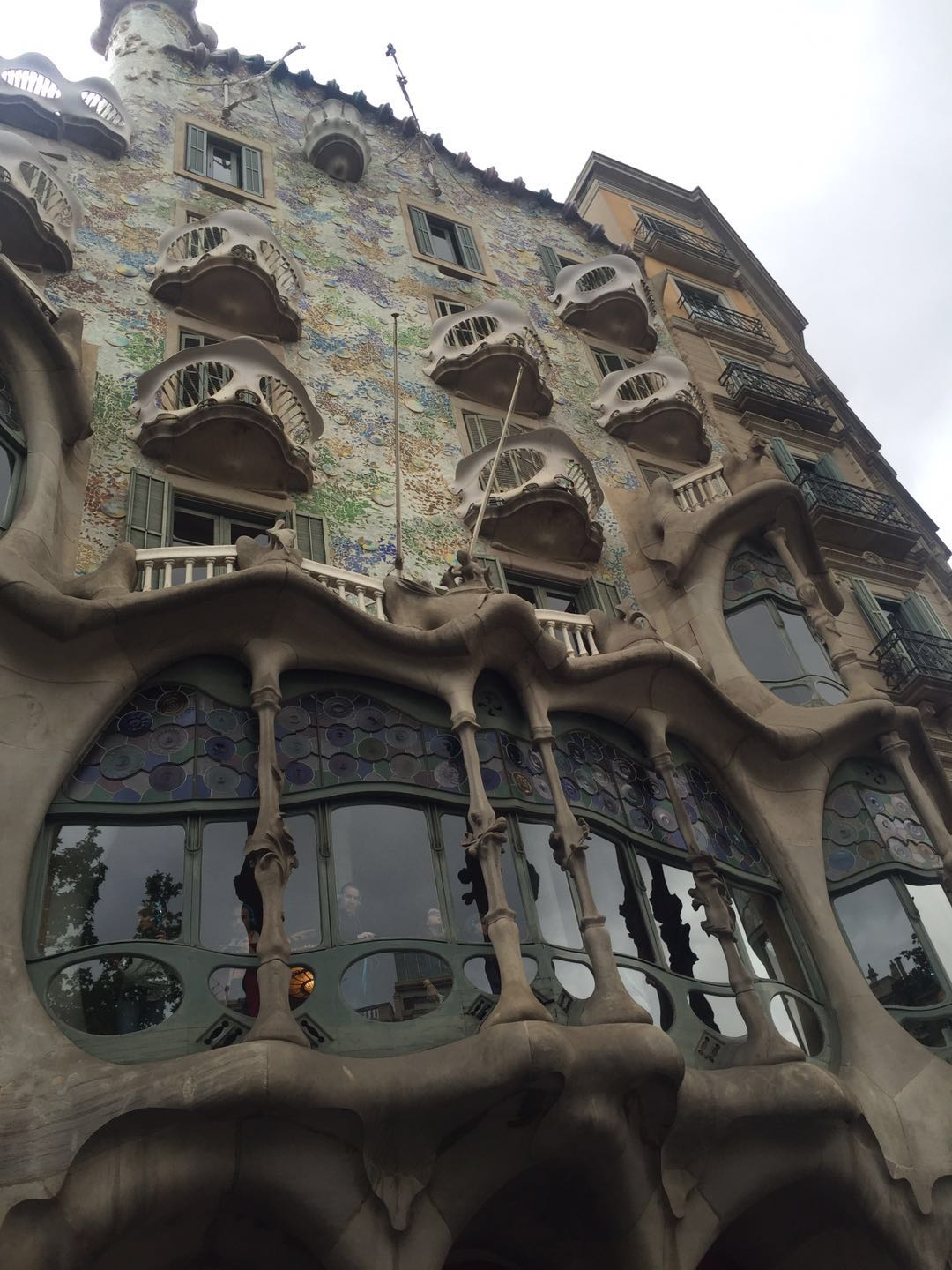 ... My Friend And I Visited The Casa Batlló, Which Made Think That Gaudi  Just Had The Talent To Carry The Castle In Fairy Tales Into The Real Life. Great Ideas